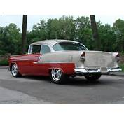 1955 CHEVROLET BEL AIR 2 DOOR HARDTOP  Rear 3/4 60706