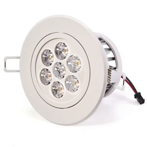 7 Watt Led Recessed Light Fixture Aimable Recessed Led Dimmable Led Bulbs For Recessed Lights