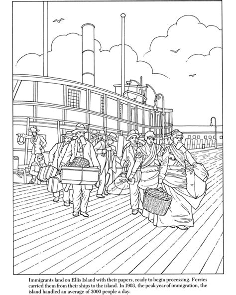 sle of immigrant card ellis island template free coloring pages of ellis island