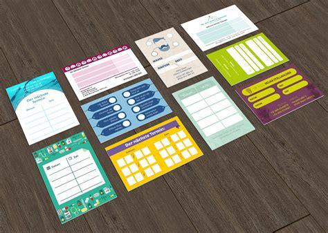 Shop Design Vorlagen Vorlagen F 252 R Termin Bonus Und Stempelkarten Sofort Lieferbar Versandkostenfrei