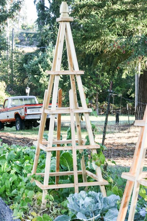 french tuteur trellis woodworking projects plans diy french tuteurs for the garden she holds dearly