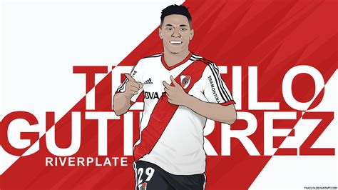 imagenes emotivas de river teofilo gutierrez river plate vector by faacu14 on
