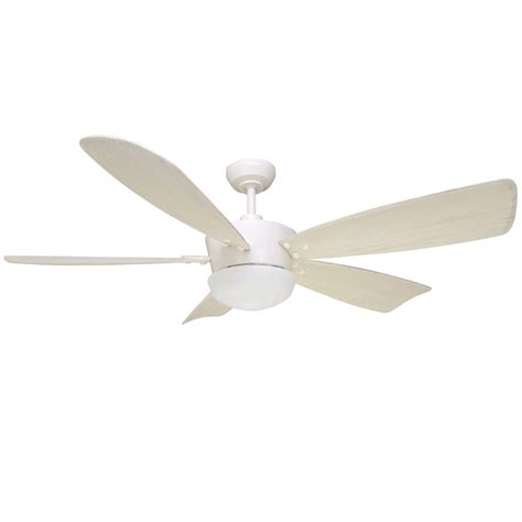 60 white ceiling fan shop harbor breeze saratoga 60 in white indoor downrod