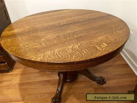 oak clawfoot table for sale antique large oak dining table with claw