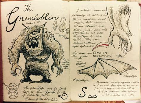 sketchbook versi 3 4 1 gravity falls journal 3 replica gremloblin page by