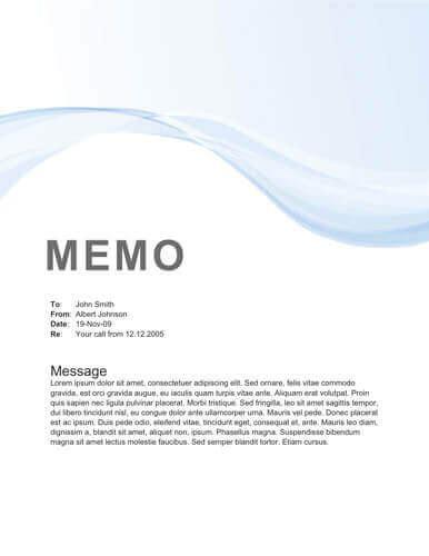 Memo Generator - memo format bonus 48 memo templates