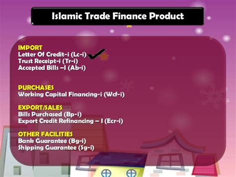 Islamic Finance Letter Of Credit islamic banking instruments in apllying of letter of