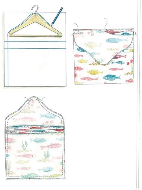 Line Pattern Bag how to make a peg bag to hang on your washing line