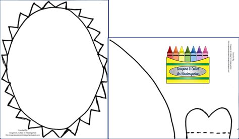 shark hat craft template crayons cuties in kindergarten something to sink your