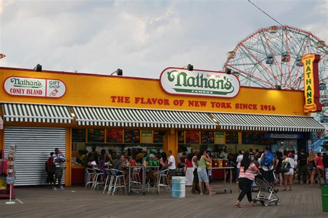 nathan s dogs coney island dogs and islands on