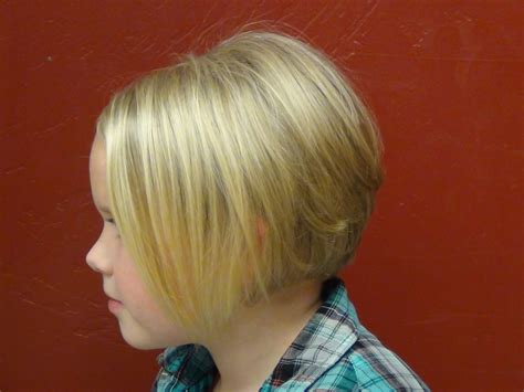 bob haircut young little girl short hairstyles hairstyle gallery