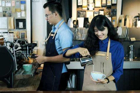 menciptakan suasana kerja bahagia  kedai kopi majalah otten coffee