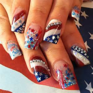 fourth of july nail art frenzy pinterest july 4th