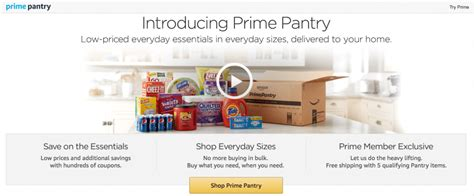Prime Pantry by 26 Reasons Why An Prime Membership Is Worth It