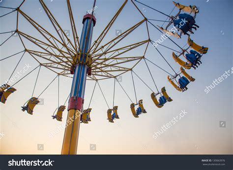 swing theme flying swing theme park stock photo 130063976 shutterstock