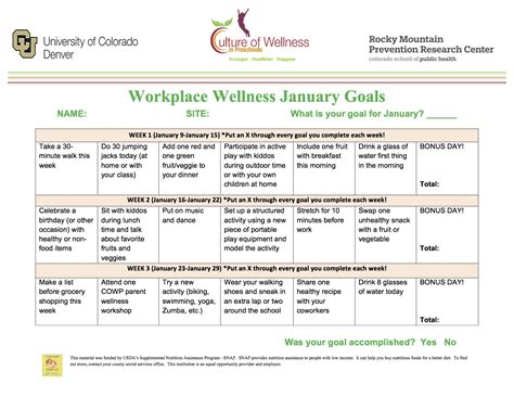 workplace wellness culture of wellness in preschools