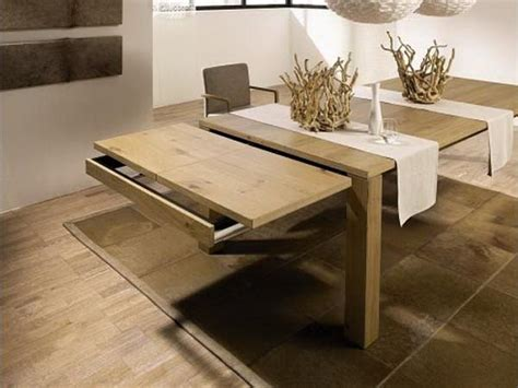 Expandable Dining Table For Small Spaces Dining Room Expandable Dining Table Design Expandable