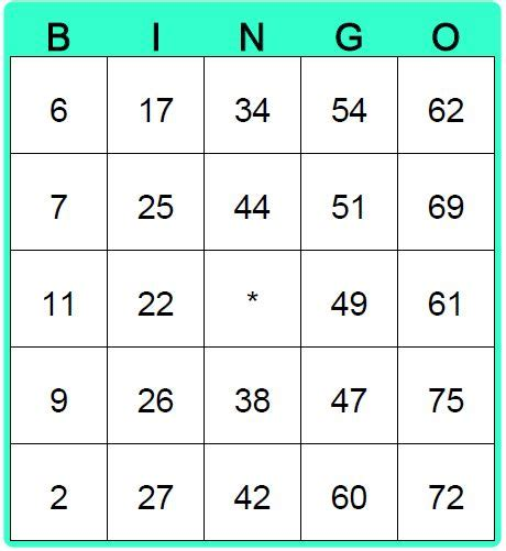 6 x 6 bingo card template editable best 25 bingo card maker ideas on