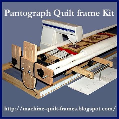How To Make A Quilting Frame Free by Quilt Frame Pantograph Kit Any Advice