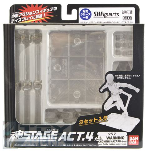 Tamashii Stage Act 5 For Mechanics Japan tamashii stage act 4 set of 3 for humanoid clear