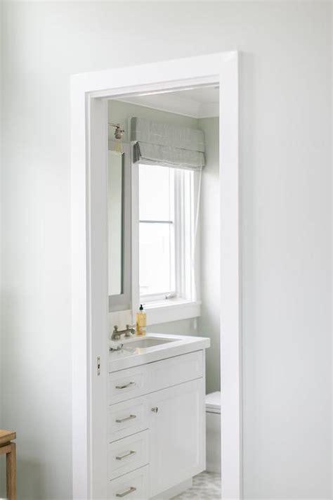 gray bathroom mirror white single bath vanity with gray mirror cottage bathroom