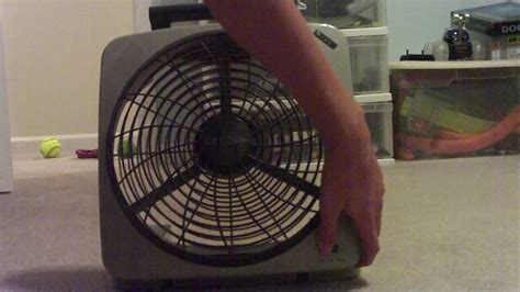 big battery operated fan o2 cool battery powered fan youtube