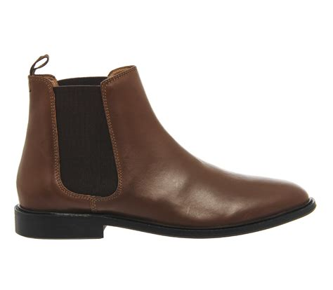 brown chelsea boots office cramble chelsea boots in brown for lyst