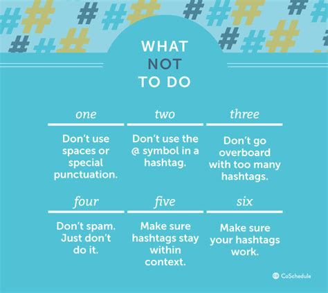 how to use hashtags the right way on every social network