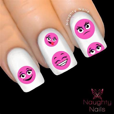 emoji transfer tattoo girl cute smiley emoji emoticon nail water transfer decal