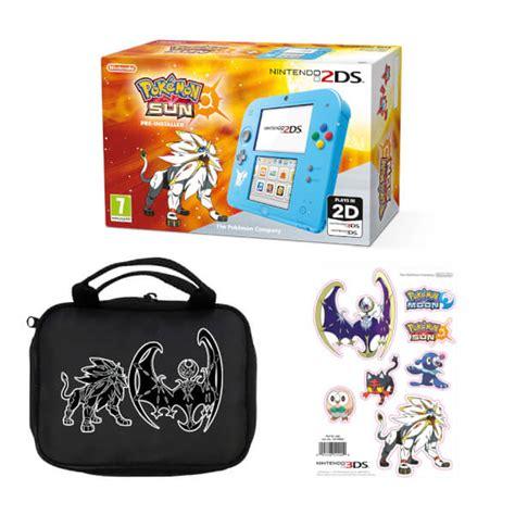 Nintendo Sun nintendo 2ds special edition pok 233 mon sun pack nintendo
