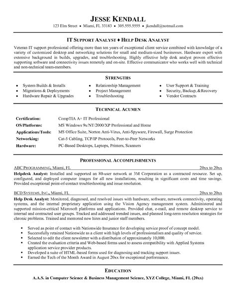computer repair technician resume accent marks resume sles best resume templates