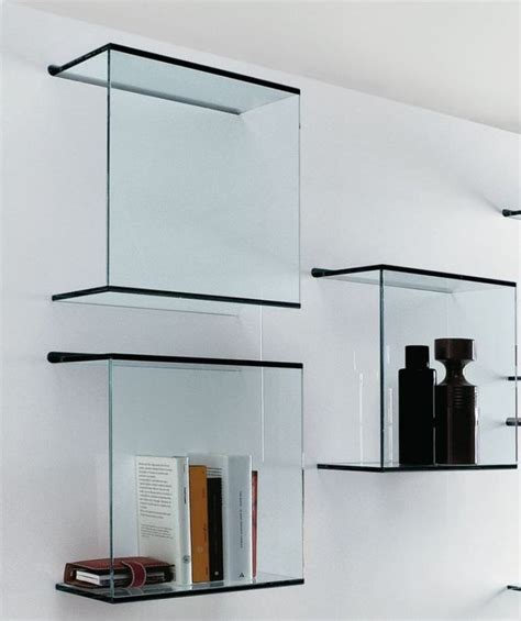 wall mounted glass display shelves home design lover
