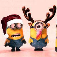 funny christmas gifs google search holiday gifs minion gif minion christmas merry