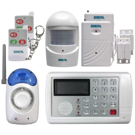 ideal security wireless self monitoring complete