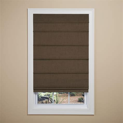roman curtain roman shades shades the home depot