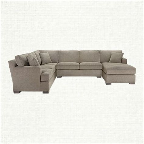 dune sectional dune 139 quot three piece upholstered left sectional in