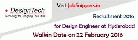 design engineer jobs in hyderabad telangana archives jobs recruitment job search