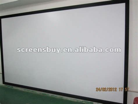Screen Projector Fixed Frame World 84 Inci 3d Silver 84 inch 500 inch fixed frame projection screen buy high quality projection screen frame