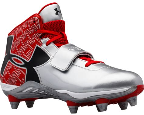 football shoes with removable cleats armour c1n mid detachable s football cleats