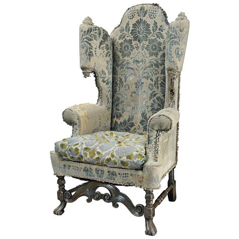 Scroll Arm Chair Design Ideas Magnificent Carolean Style Scroll Wing Armchair At 1stdibs