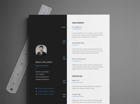 cv design illustrator template free download resume template cv template template and