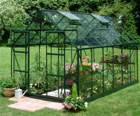 halls forest green magnum 12ft x 8ft greenhouse green