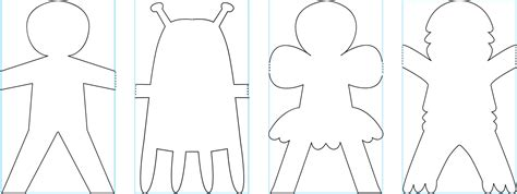 paper doll clothes template sle of paper doll template free