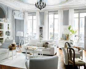 Grey And White Living Room by Mix And Chic Eclectic Chic Living Rooms