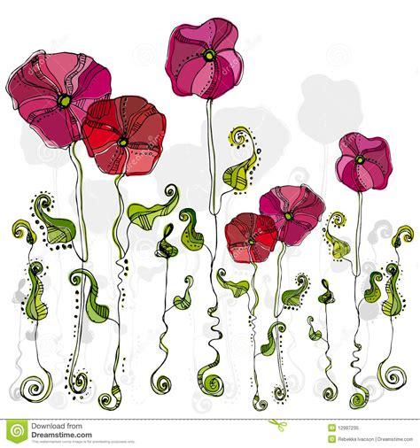 imagenes de flores ilustradas flores lindas ilustradas foto de archivo libre de regal 237 as