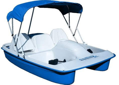 asl electric pedal boat new sun dolphin blue water wheeler electric asl 5 seat