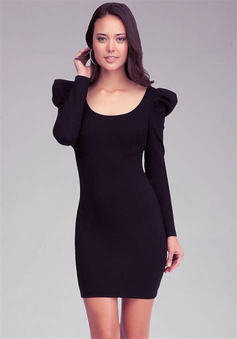 Velisa Cross Blouse Fn sleeve cross back dress bebe