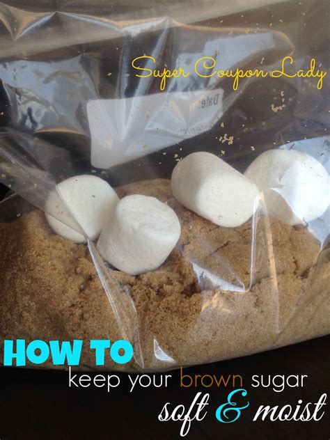 how to keep your brown sugar soft and moist super coupon