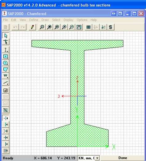 tutorial sap2000 version 11 download create bulb girder sections with rounded corners