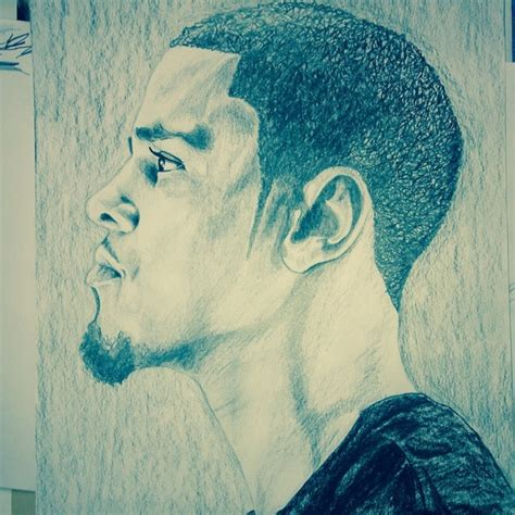 Drawing J Cole by Sketch Drawing Of J Cole Spanellie S Stuff